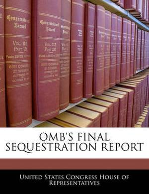 OMB's Final Sequestration Report