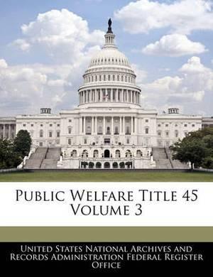 Public Welfare Title 45 Volume 3