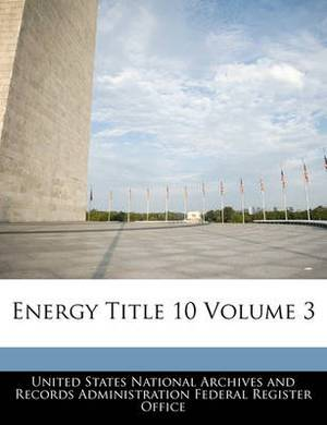 Energy Title 10 Volume 3