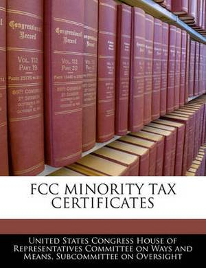 FCC Minority Tax Certificates