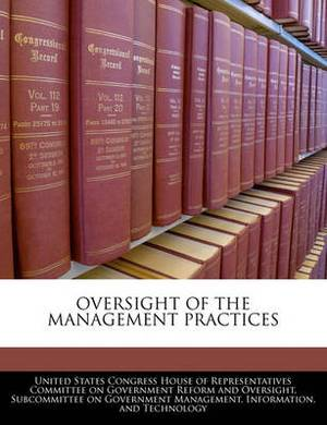 Oversight of the Management Practices