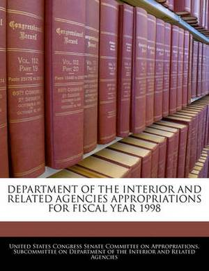 Department of the Interior and Related Agencies Appropriations for Fiscal Year 1998