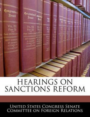 Hearings on Sanctions Reform