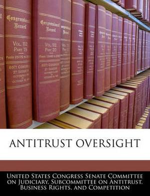 Antitrust Oversight