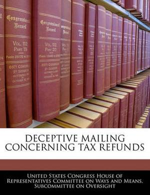 Deceptive Mailing Concerning Tax Refunds