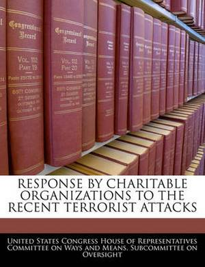 Response by Charitable Organizations to the Recent Terrorist Attacks