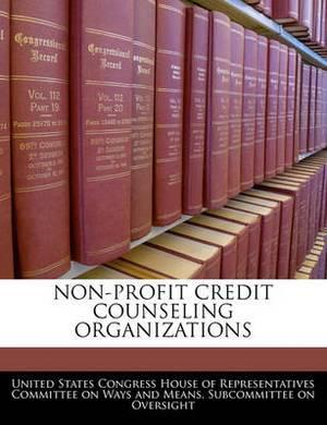 Non-Profit Credit Counseling Organizations