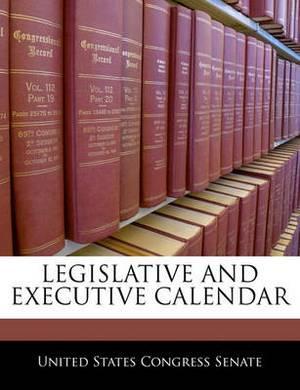 Legislative and Executive Calendar