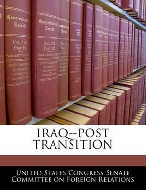 Iraq--Post Transition