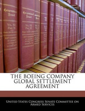 The Boeing Company Global Settlement Agreement