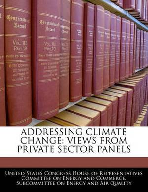 Addressing Climate Change: Views from Private Sector Panels