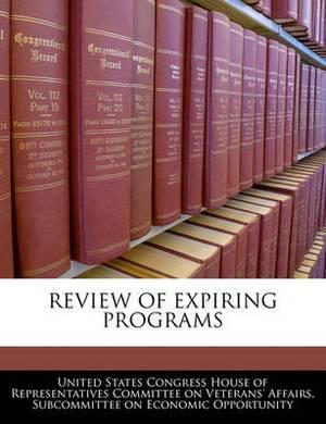 Review of Expiring Programs