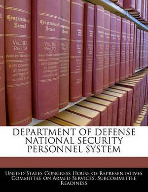 Department of Defense National Security Personnel System
