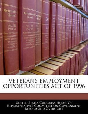 Veterans Employment Opportunities Act of 1996