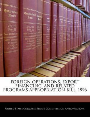Foreign Operations, Export Financing, and Related Programs Appropriation Bill, 1996