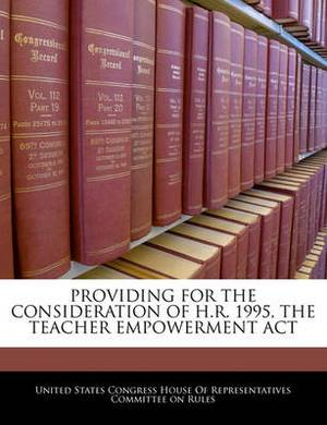 Providing for the Consideration of H.R. 1995, the Teacher Empowerment ACT