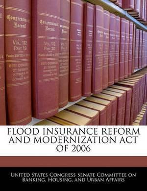 Flood Insurance Reform and Modernization Act of 2006