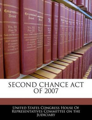 Second Chance Act of 2007