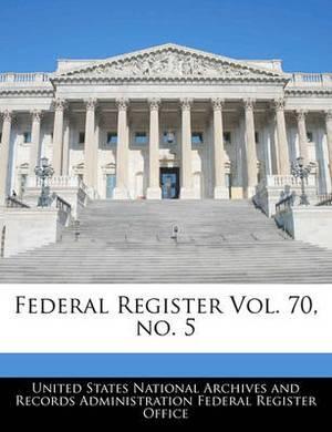 Federal Register Vol. 70, No. 5