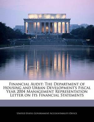Financial Audit: The Department of Housing and Urban Development's Fiscal Year 2004 Management Representation Letter on Its Financial Statements