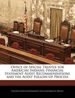Office of Special Trustee for American Indians: Financial Statement Audit Recommendations and the Audit Follow-Up Process