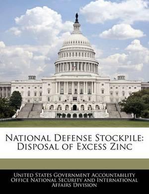 National Defense Stockpile: Disposal of Excess Zinc