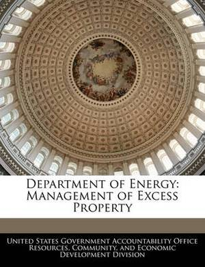 Department of Energy: Management of Excess Property