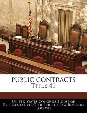 Public Contracts Title 41