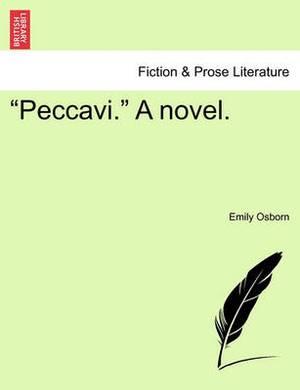 Peccavi.  a Novel. Vol. III