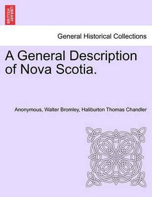 A General Description of Nova Scotia.