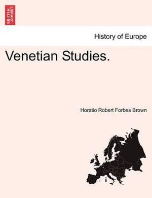 Venetian Studies.