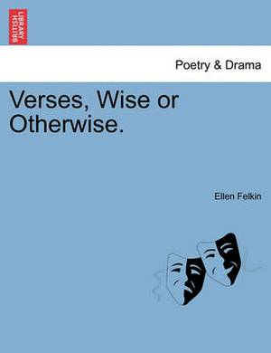 Verses, Wise or Otherwise.