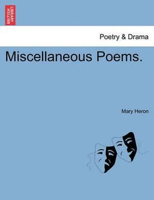 Miscellaneous Poems.