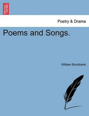 Poems and Songs.