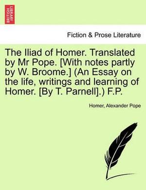 The Iliad of Homer, Translated by Mr. Pope, Volume III