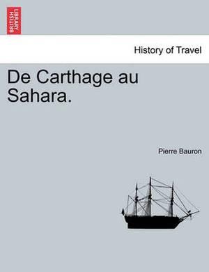 de Carthage Au Sahara.