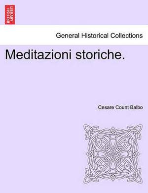 Meditazioni Storiche.