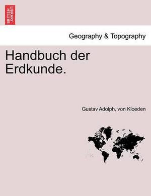 Handbuch Der Erdkunde. 3 Band