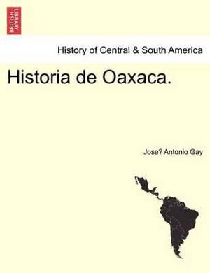 Historia de Oaxaca.