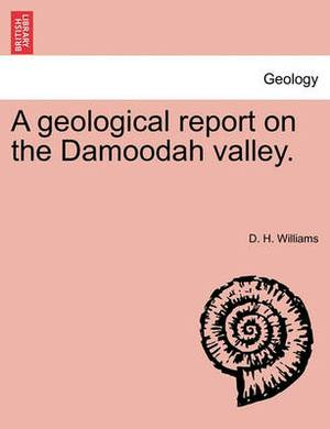 A Geological Report on the Damoodah Valley.