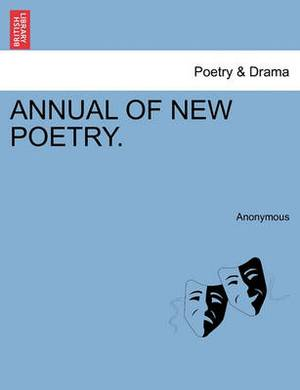 Annual of New Poetry.