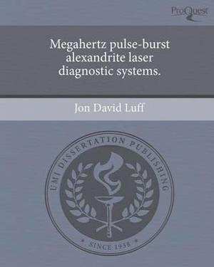 Megahertz Pulse-Burst Alexandrite Laser Diagnostic Systems