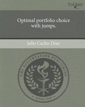 Optimal Portfolio Choice with Jumps