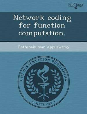 Network Coding for Function Computation