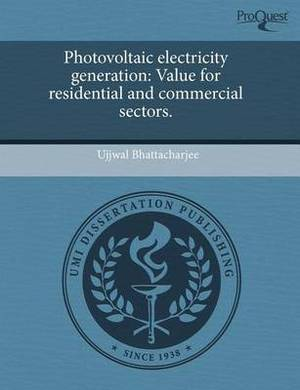 Photovoltaic Electricity Generation: Value for Residential and Commercial Sectors