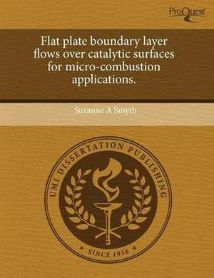 Flat Plate Boundary Layer Flows Over Catalytic Surfaces for Micro-Combustion Applications