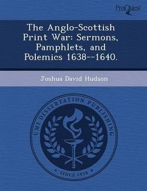 The Anglo-Scottish Print War: Sermons