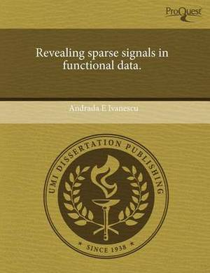 Revealing Sparse Signals in Functional Data