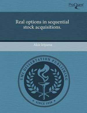 Real Options in Sequential Stock Acquisitions