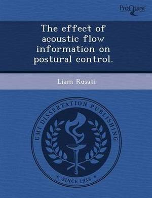 The Effect of Acoustic Flow Information on Postural Control